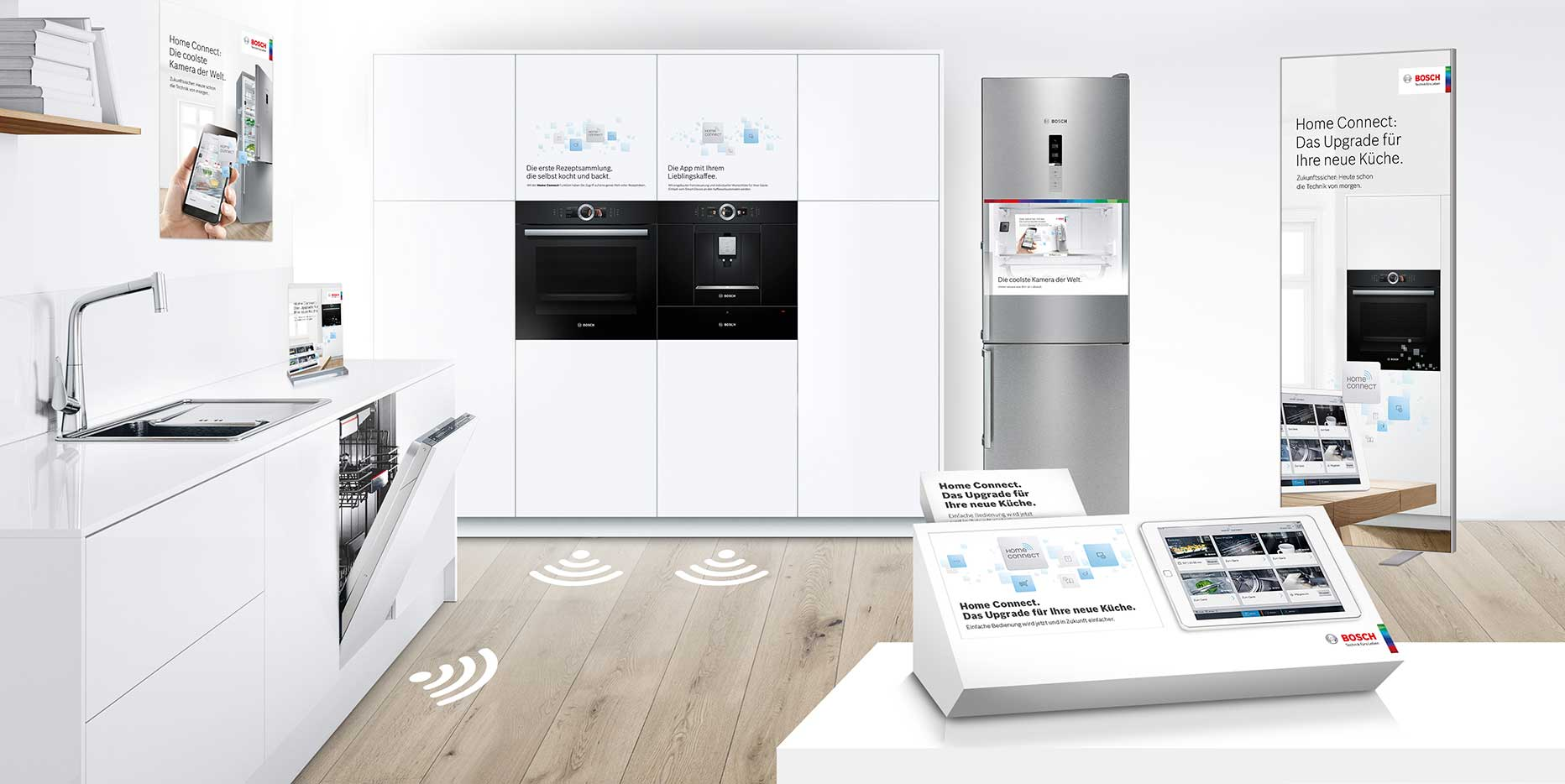 Bosch Home Connect – Point of Sale.