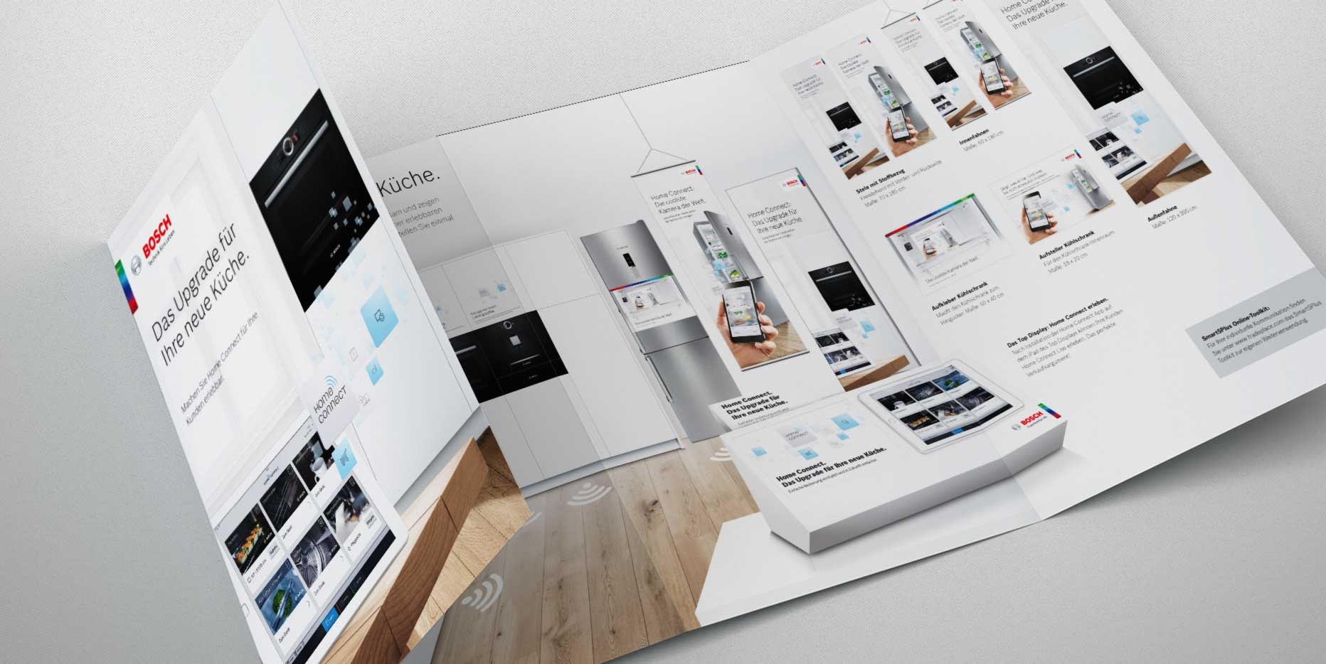 Bosch Home Connect – B2B-Werbemittel