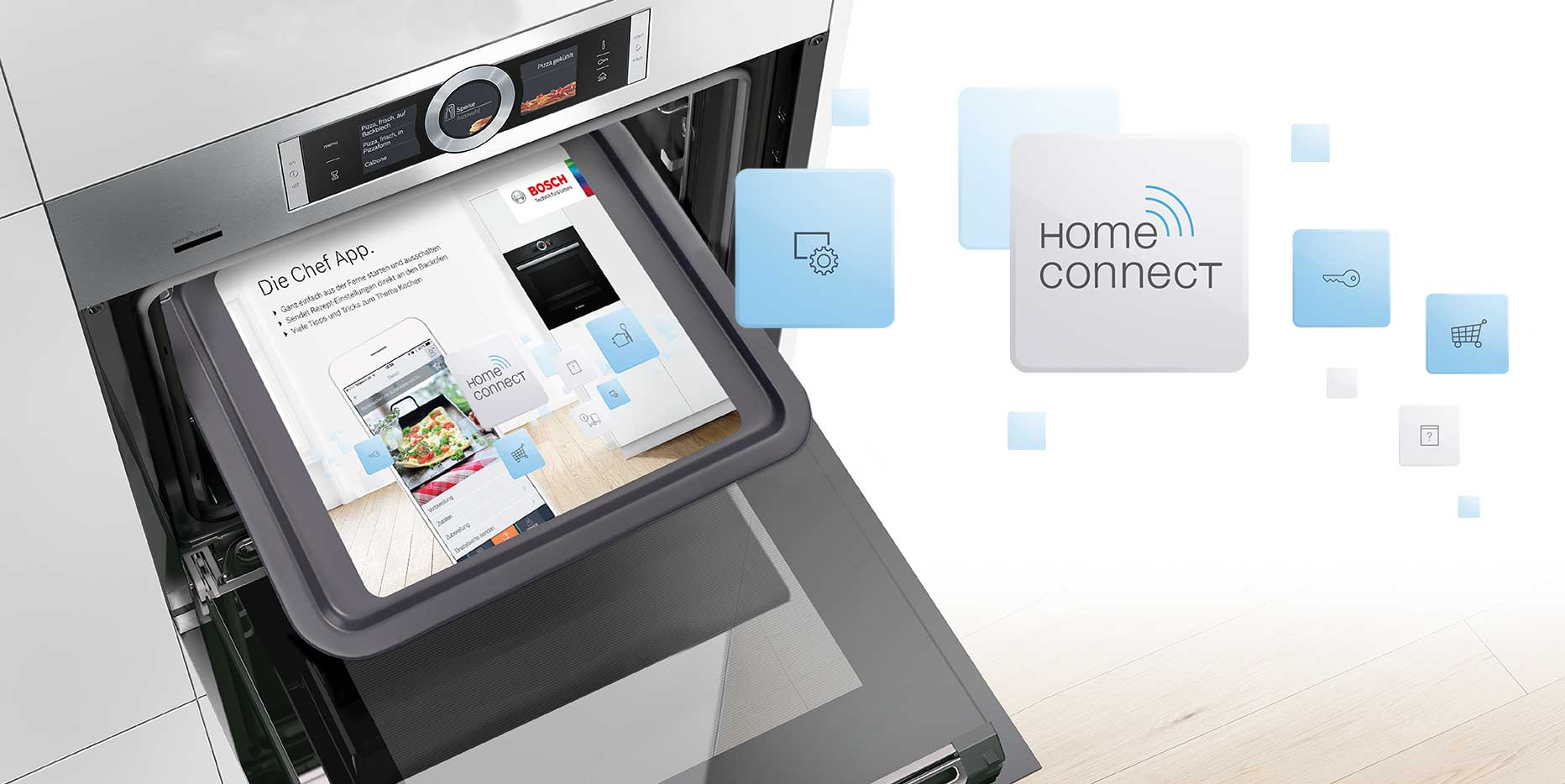 Bosch Home Connect – PoS-Werbemittel