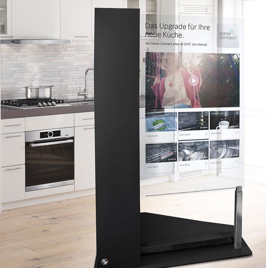 Bosch Home Connect – HoloTouch Display.