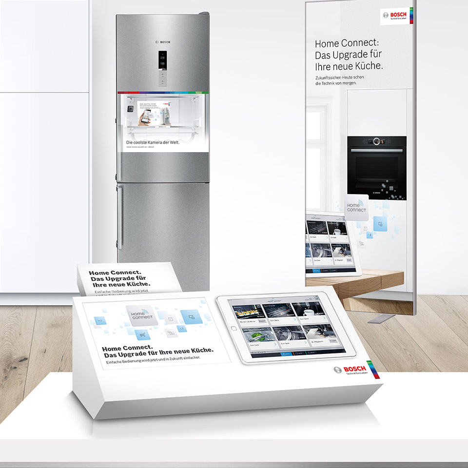 Bosch Home Connect – die Home Connect Küche.